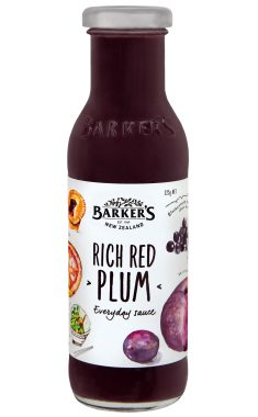 Barker's Rich Red Plum Sauce
