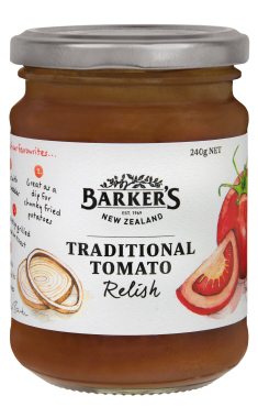 Traditional Tomato Relish