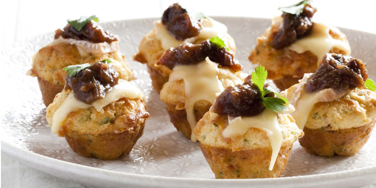 mini cheese muffins