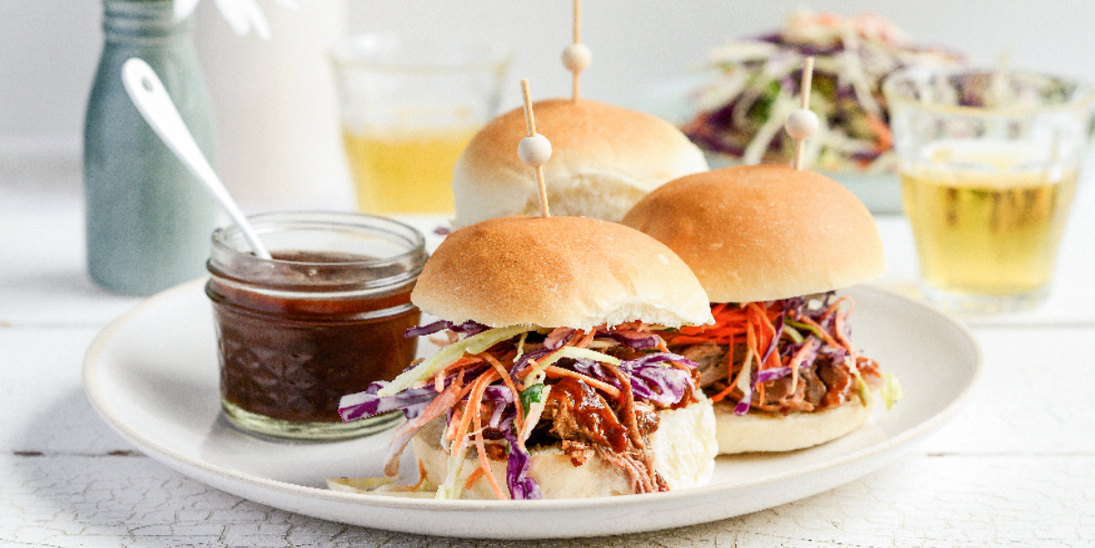 Pulled Pork Jerk Sliders