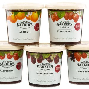 Barker's of New Zealand Jam Range