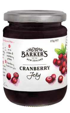 Barker's Cranberry Jelly