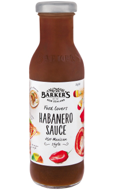 Barker's Food Lovers Habanero Sauce