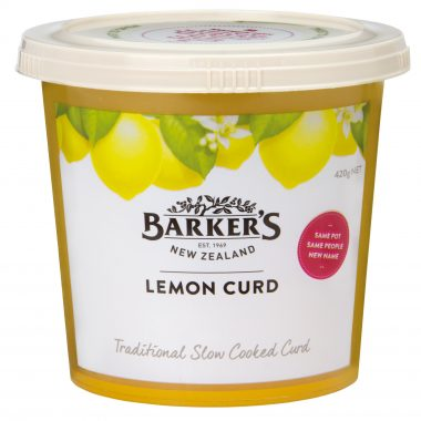 Barker's of New Zealand Lemon Curd