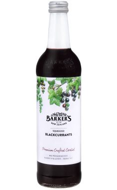 Barker's Squeezed Blackcurrants fruit cordial