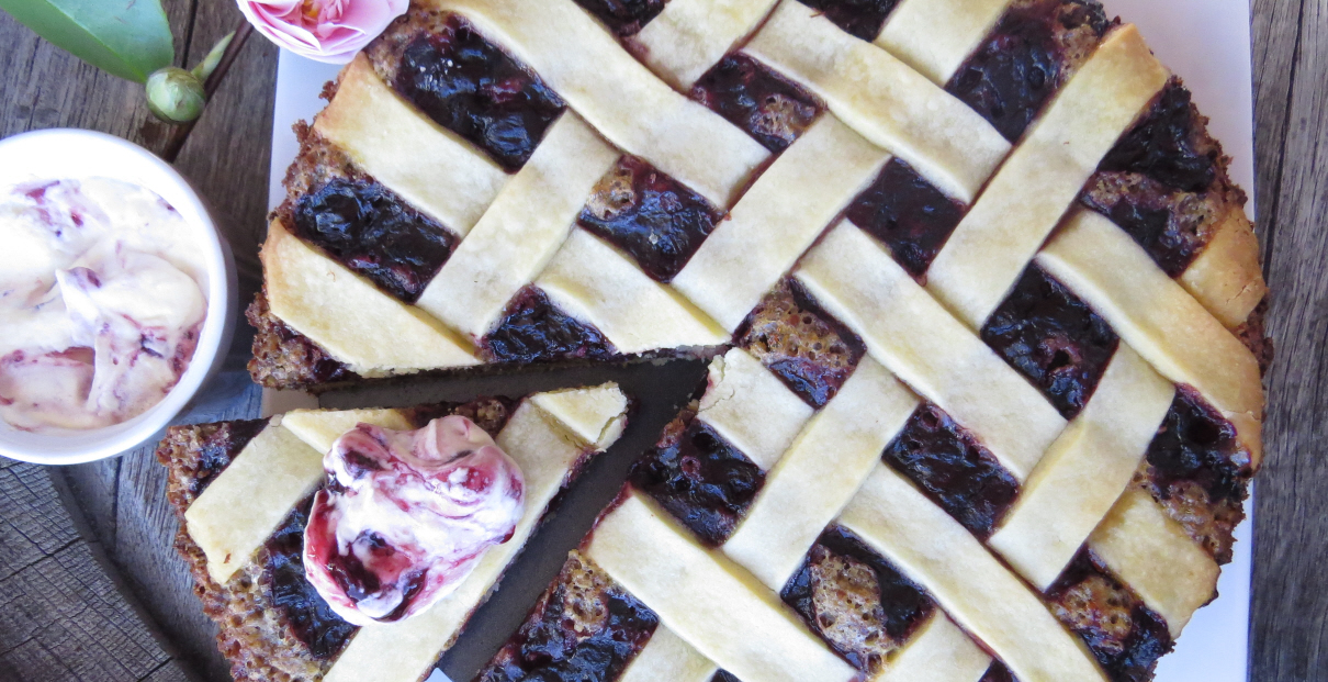 Mixed Berry Almond Tart