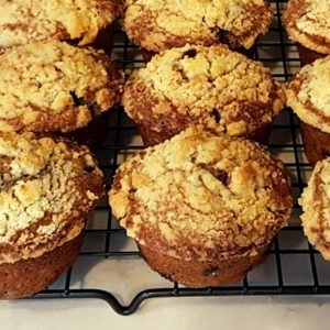 Deb's Fruit Compote Muffins