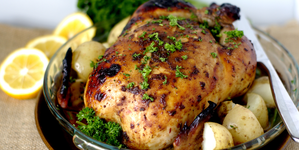 Nine Spice Whole Roast Chicken
